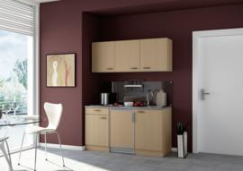 Beuken keuken pantry opstelling 150x60cm