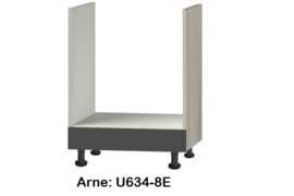 Oven inbouw onderkast 60x60cm  zonder werkblad Arne
