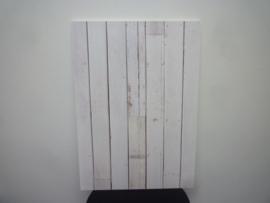 Steigerhoutprint tbv afwasmachine front 70x60cm sticker
