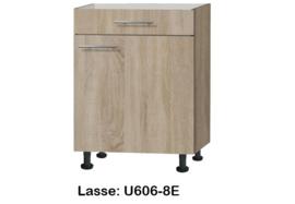 Onderkast 60cm zonder werkblad Lasse