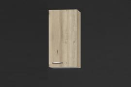 Bovenkast hoog Elba 40x89,6 cm edel beuken decor