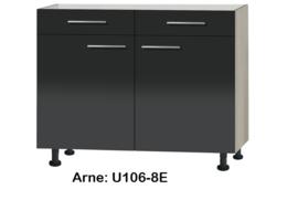 Onderkast 100cm zonder werkblad Arne