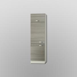 Hoge klepkast Vigo pijnboom nougat 206,8x60x60 cm
