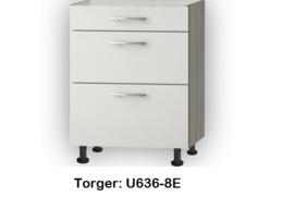 Onderkasten met uittreklade, zonder werkblad Torger