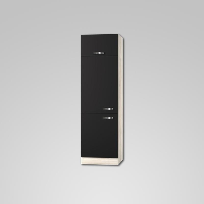 Hogekast Faro 60x60x206,8 cm tbv inbouw koelkast