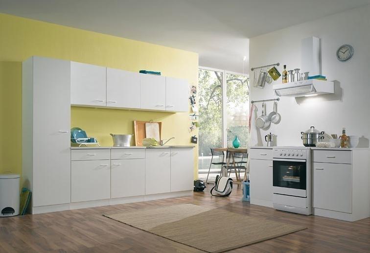 Keuken 50 Klassik 250 x 50 x 209 cm Wit
