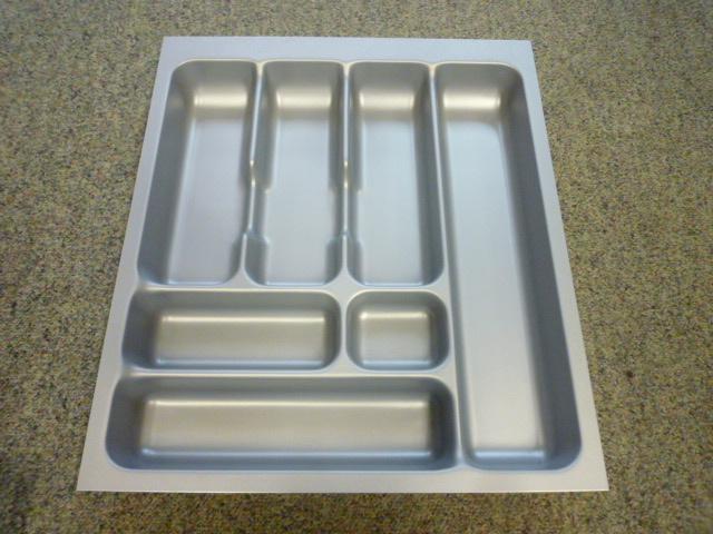 Besteklade grijs 41,7 x 47,4 cm (geschikt voor lade 50x60 cm)