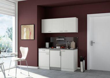 Wit keuken pantry opstelling 150x60cm
