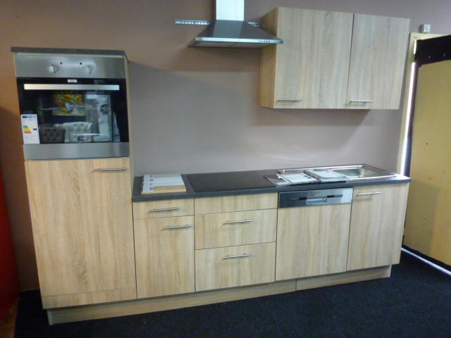 Complete keuken met of zonder apparatuur Lasse eiken