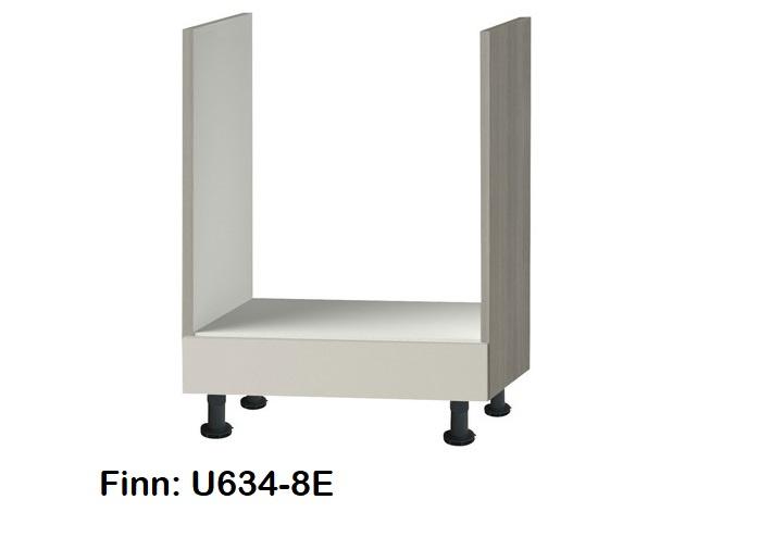 Oven inbouw onderkast 60cm zonder werkblad Finn