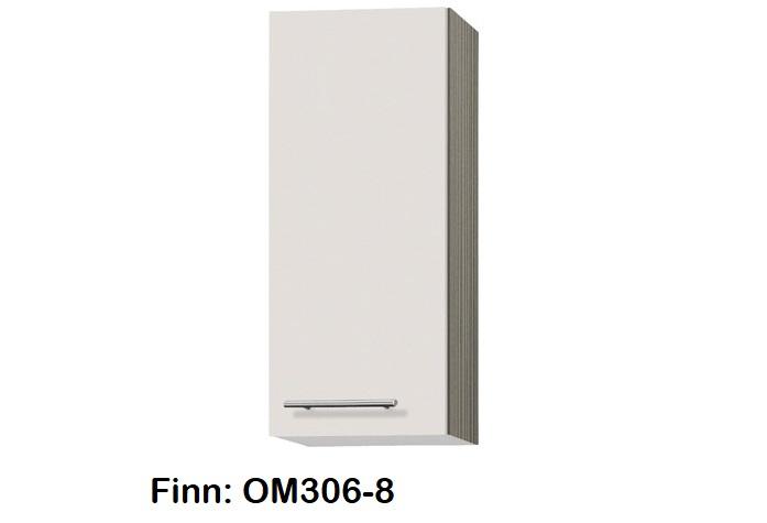 Bovenkast 30cm Finn sahara beige hoogte 70,4 cm