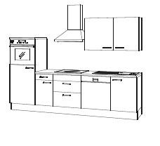 Complete keuken met of zonder apparatuur Peer Hoogglans Wit
