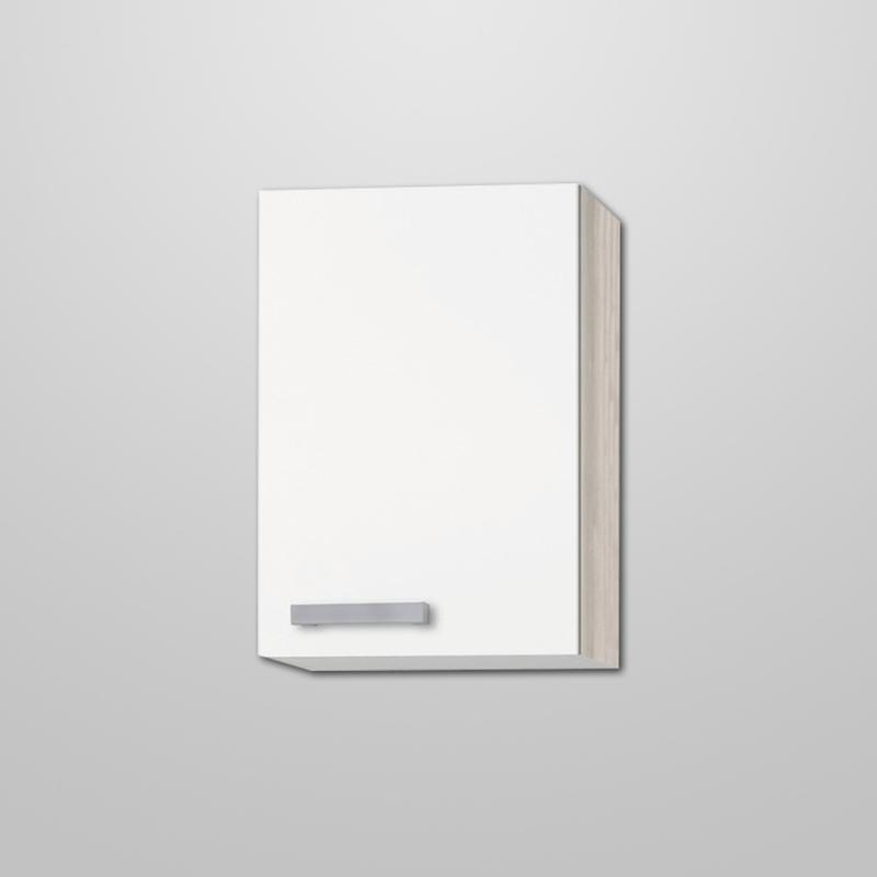 Bovenkast Genf wit met akazia design 40x57,6