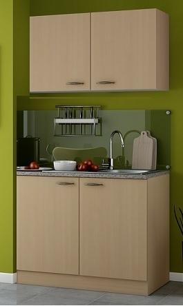 Beuken Pantry kleine keuken