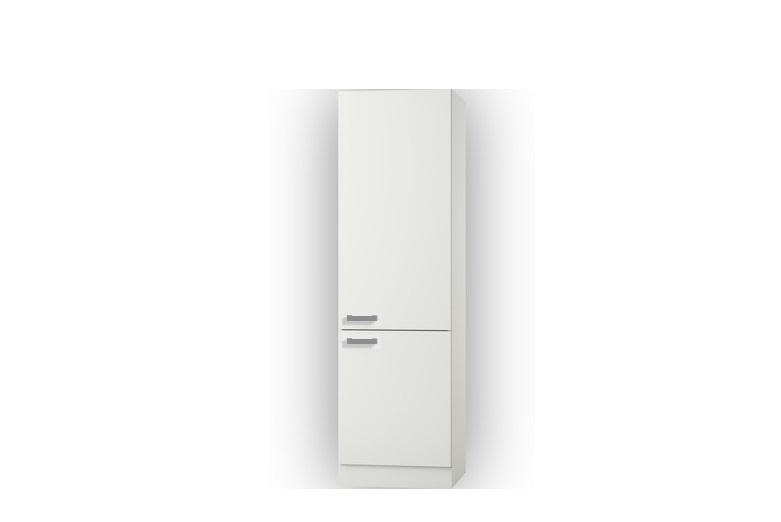 Hogekast Oslo wit/wit design 60x206,8x60 cm