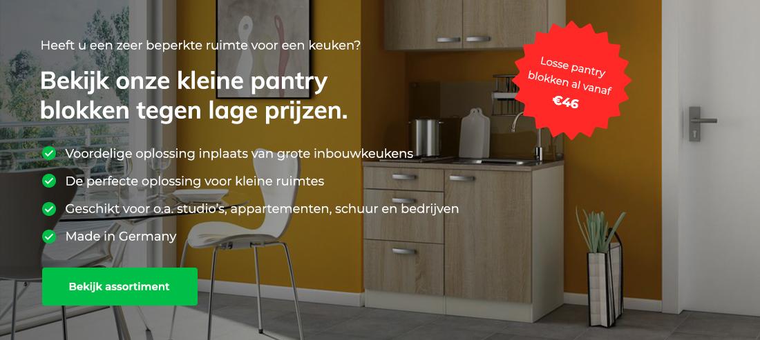 Keuken-actie webshop