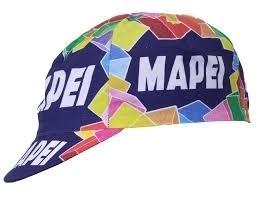 Vintage koerspet wielrenpet Mapei