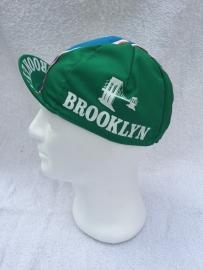 Koerspet / wielrenpet / fietspet Brooklyn groen
