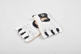 Cyling Gloves Vintage Style Blb Wit
