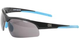 Contec sportbril 3DIM - Zwart/blauw