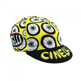Cinelli eyes for U cap koerspet / wielrenpet / fietspet