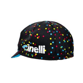 Cinelli Caleido dots cap koerspet / wielrenpet / fietspet