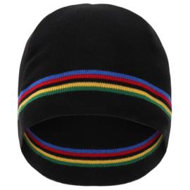 Santini UCI 'rainbow' winter beanie