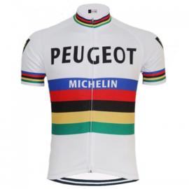 Regenboog - Peugeot Michelin wielershirt