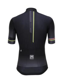 Santini UCI Iride Black Short Sleeve Jersey