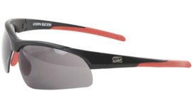Contec sportbril 3DIM - Zwart/rood