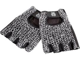 Cyling Gloves Vintage Style Blb Wit/zwart