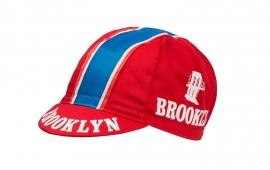 Koerspet / wielrenpet / fietspet Brooklyn rood