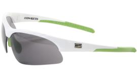 Contec sportbril 3DIM - Wit/groen