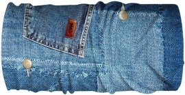 HAD Multifunctie nekverwarmer Denim