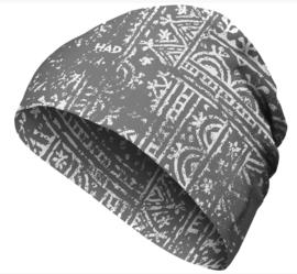 HAD muts - fietsmuts Merino - Woodcut grey
