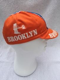 Koerspet / wielrenpet / fietspet Brooklyn oranje