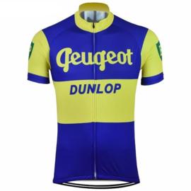 Peugeot Dunlop wielershirt