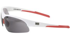 Contec sportbril 3DIM - Wit/rood