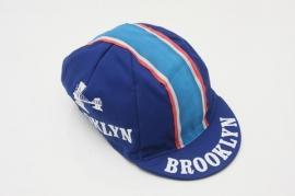 Koerspet / wielrenpet / fietspet Brooklyn blauw