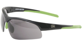 Contec sportbril 3DIM - Zwart/groen