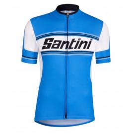 Santini Tau Short Sleeve Printed Jersey