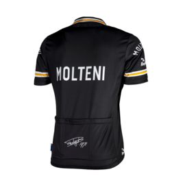 Retro Molteni zwart wielershirt - Rogelli