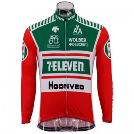 7 Eleven wielershirt - rood