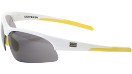 Contec sportbril 3DIM - Wit/geel