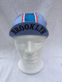 Koerspet / wielrenpet / fietspet Brooklyn licht blauw