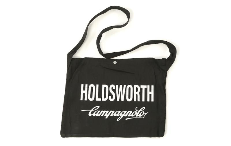 Wielermusette / Musette wielertasje Holdsworth zwart
