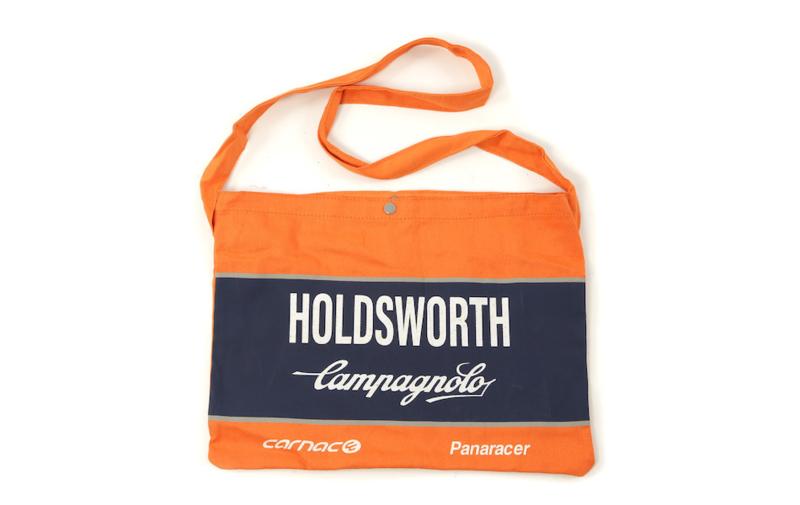 Wielermusette / Musette wielertasje Holdsworth oranje
