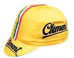 Koerspet / wielerpet, wielercap Clement