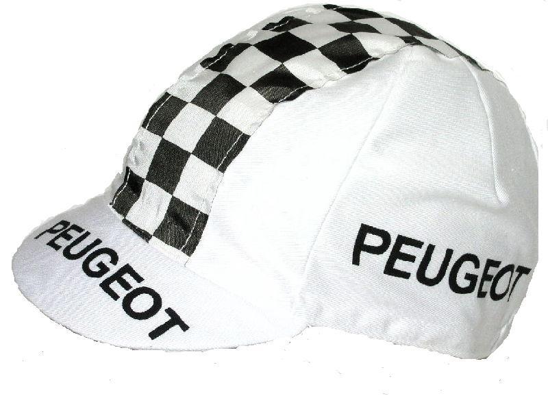 Koerspet / wielerpet, wielercap Peugeot
