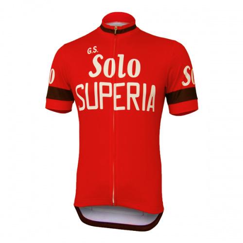 Solo Superia wielershirt - heren